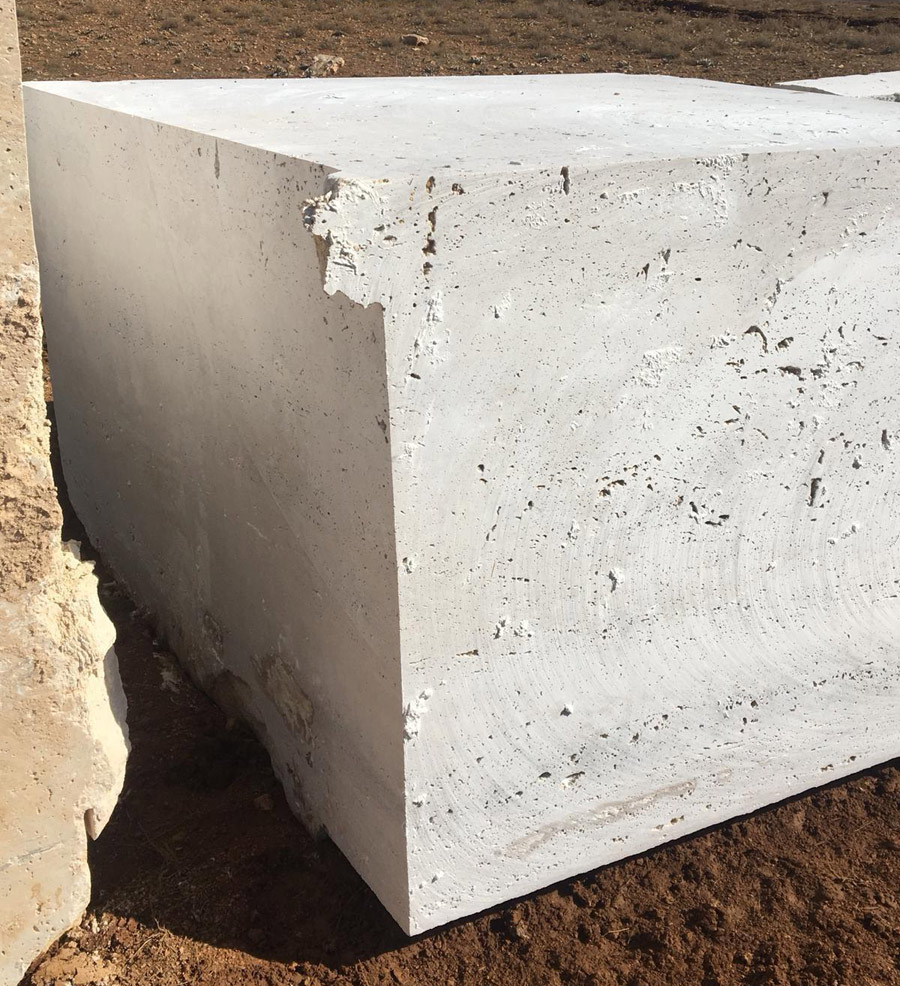 Turkey Travertine Quarry Blocks
