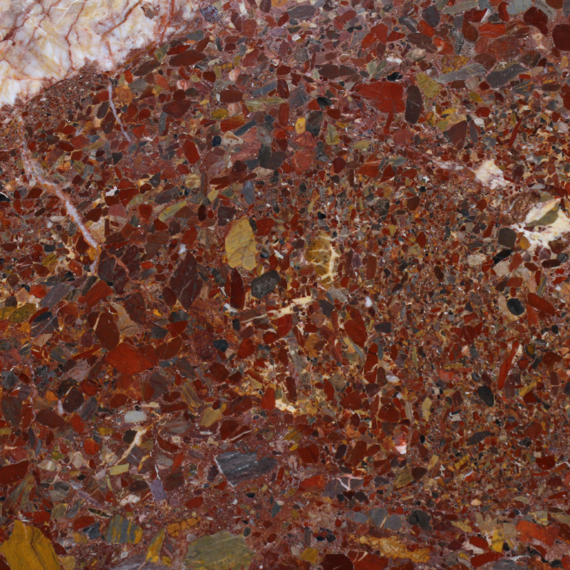 Red Conglomerate Marble