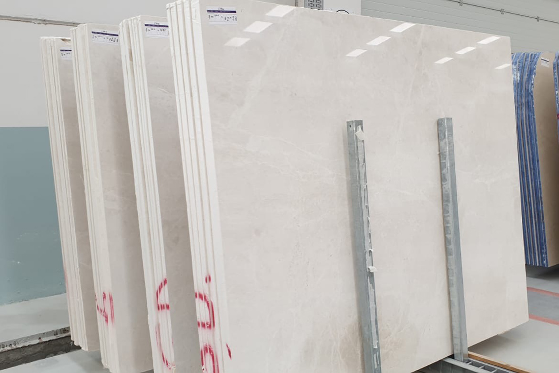 Vanilla Ice White Marble Polished Slabs