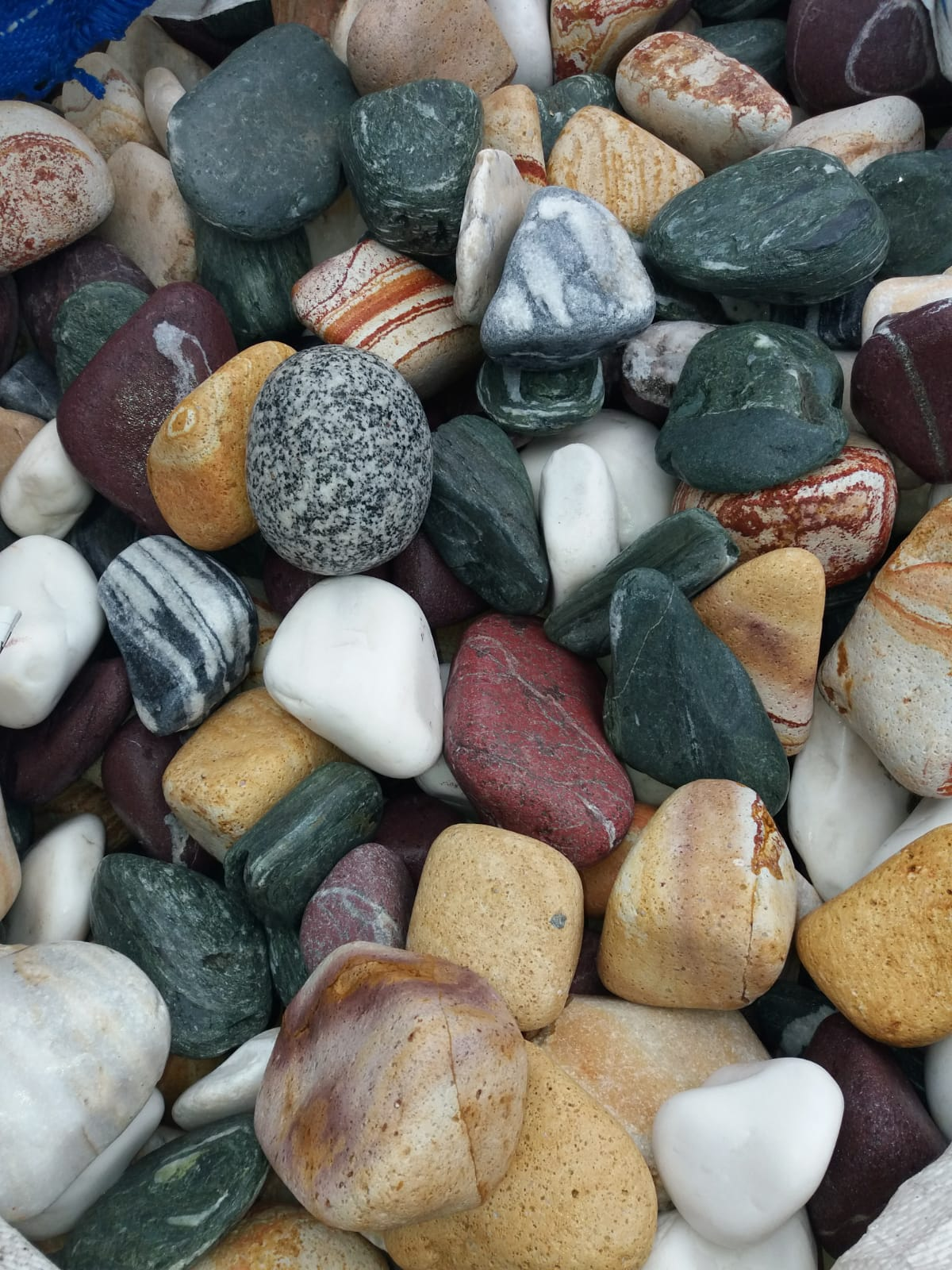 Multicolor Stones Flouray All Mix Pebbles &Gravels