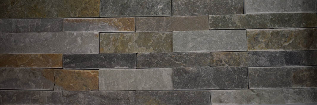 NATURAL SLATE STONE PANEL GREEN EYES