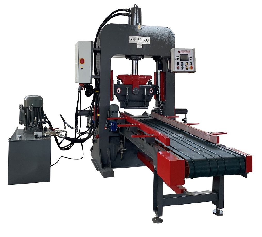 EM02 - Hydraulic Stone Press
