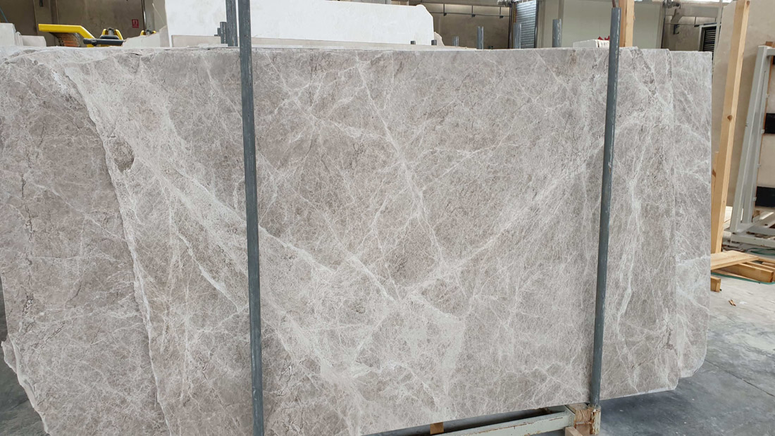High Quality Turkish Tundra Grey Marble Slabs