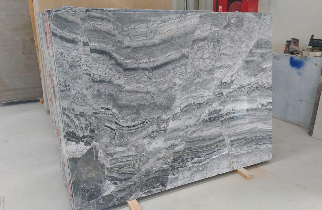 Dream Grey Marble Polished Slabs
