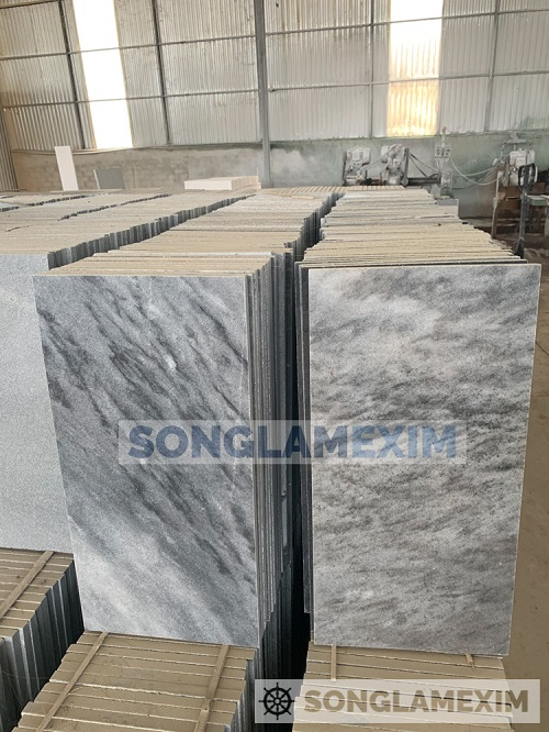 Sapphire Blue Marble Polished Tiles