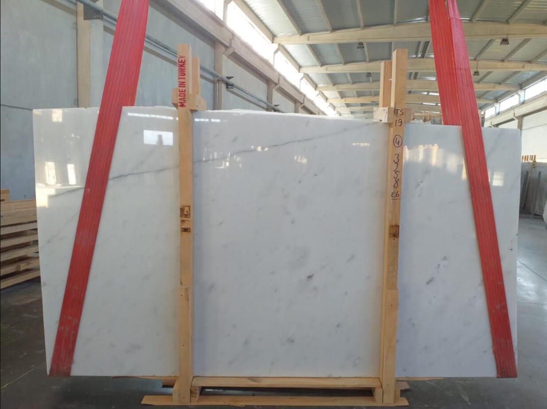 Mugla White Slab Turkish White Marble Stone Slabs
