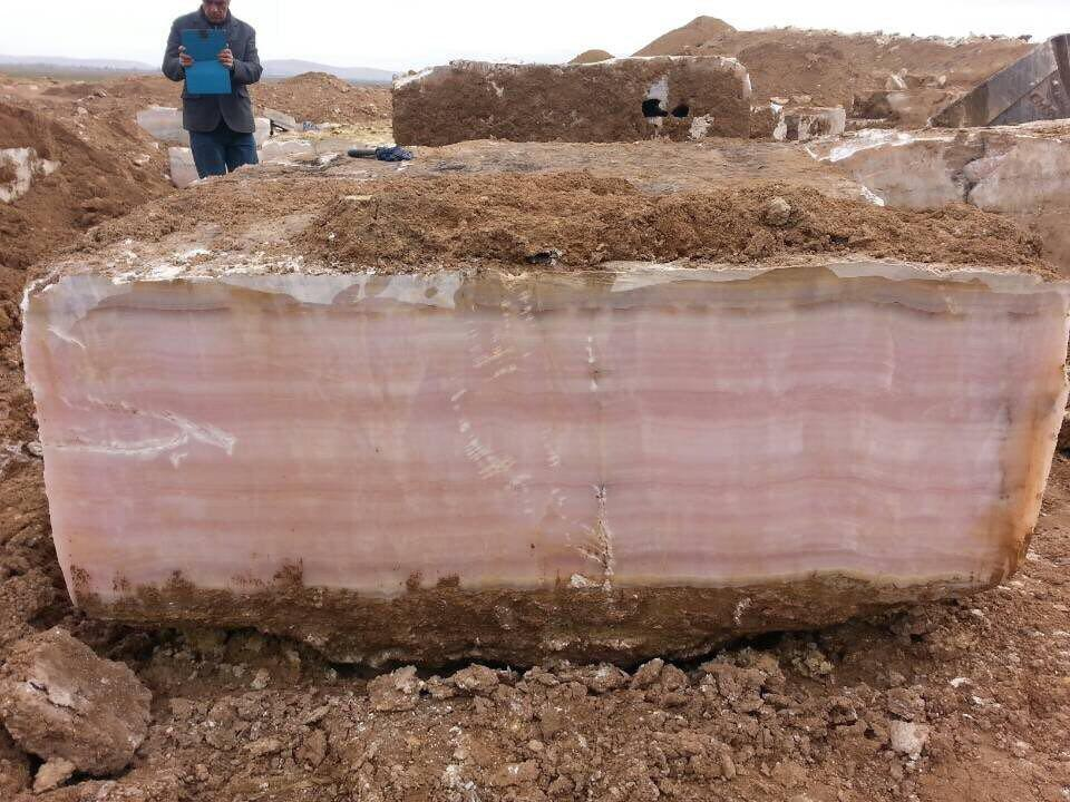 pink onyx marble