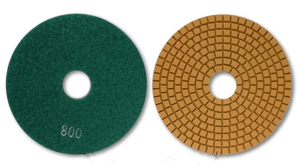 Economy Wet Diamond Polishing Pads with Silver Dongsing Logo for Granite  Marble