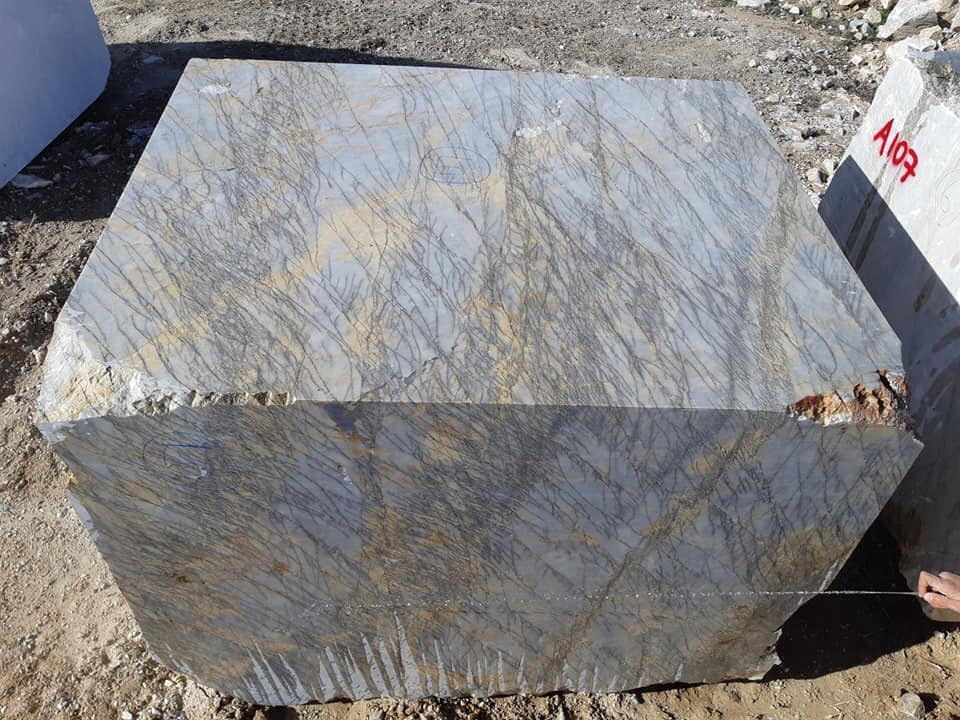 Fantasy Grey Marble Natural Marble Blocks