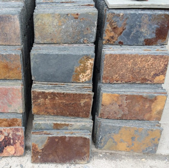 On Sale China Cheap Natural Rusty Slate Roof Tiles Roofing Slate Covering High Quality Tiles