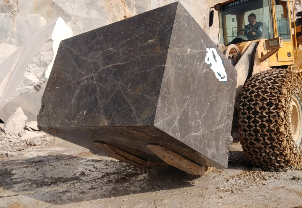 Olive Maron Grey Marble Blocks