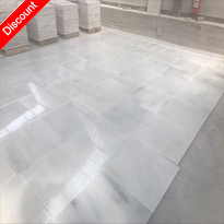Zetta White Polished Marble Tiles