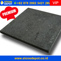Indonesia Black Lavastone Black Volcanic Stone