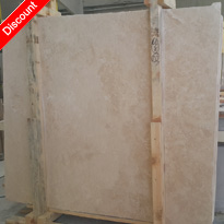 turkish ivory beige travertine filled