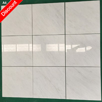 12 X 12 New Oriental White / Marble Polished Micro Beveled Tile